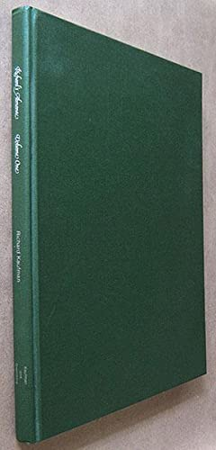 Richard's Almanac Volume One (1982-1983): Kaufman, Richard