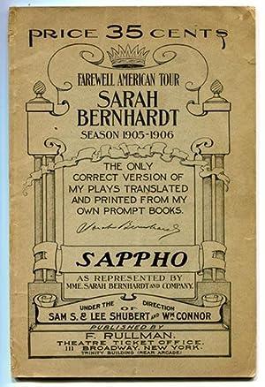 Sappho: A Play in Five Acts (As: Daudet & Belot