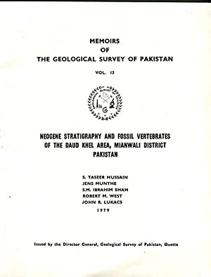 Memoirs of the Geological Survey of Pakistan: Hussain, S. Taseer,