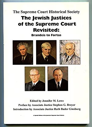 The Jewish Justices of the Supreme Court Revisited: Brandeis to Fortas