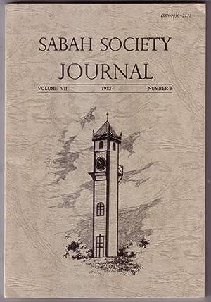 Sabah Society Journal Volume VII Number 3