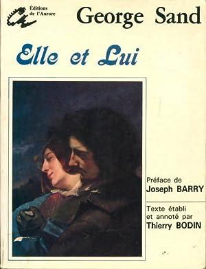 Elle et lui - George Sand: George Sand