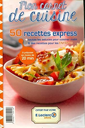 50 recettes express - Collectif