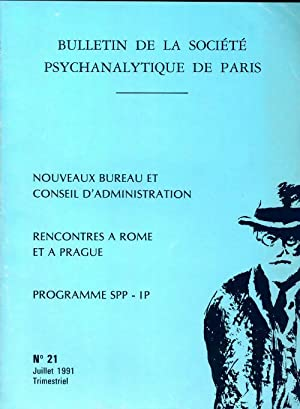 Bulletin de la société psychanalytique de Paris n°21 - Collectif