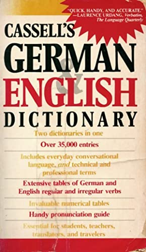Cassell's German & English dictionary - XXX