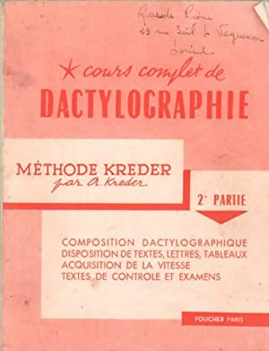 Cours Dactylographie - AbeBooks