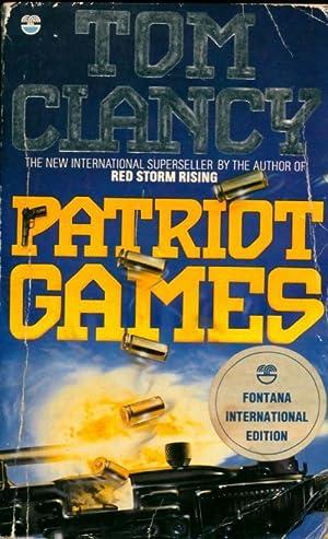 Patriot games - Tom Clancy: Tom Clancy