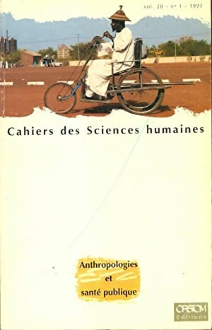 Cahiers des sciences humaines volume 28 n°1 - Collectif