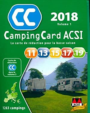 Campingcard ACSI 2018 Volume 1 - Collectif