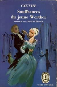 Les souffrances du jeune Werther - Johann: Johann Wolfgang Von