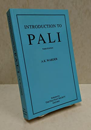 Introduction to Pali: Warder, A. K.