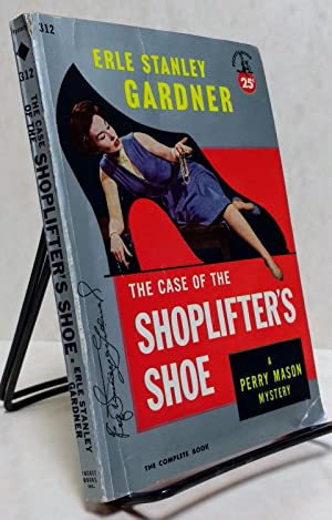 The Case of the Shoplifter's Shoe (Pocket Book) SIGNED by Gardner on the front cover