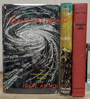 Foundation Trilogy [Complete set in first editions]: Isaac Asimov