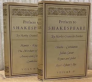 Prefaces to Shakespeare, 2 Vols.--Vol 1: Hamlet,: Granville-Barker, Harley; William