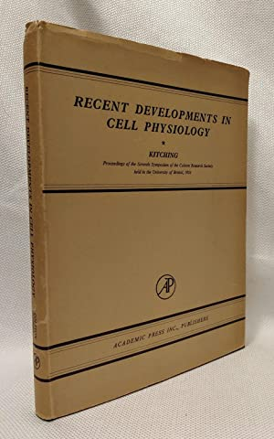 Recent Developments in Cell Physiology (proceedings of the seventh symposium of the Colston Resea...