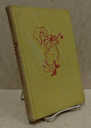 Pippi Goes on Board [First edition, 1957]: Lindgren, Astrid; Lamborn, Florence [Translator]; ...