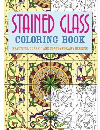 creative haven kaleidoscope designs stained glass coloring book creative haven coloring books