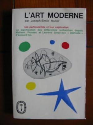 L'ART MODERNE: MULLER, JOSEPH-EMILE