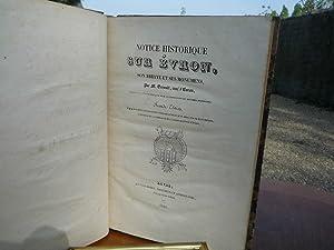 Notice historique sur Évron, son Abbaye et ses Monumen(t)s. Seconde Édition Augmentée. 1840. Suivi ...