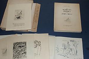 Les Moments Perdus de John Shag. Avec dessin original signé d'Hervé Baille + Gravures.: GILBERT...