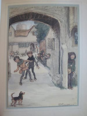 Les Joyeuses Commères de Windsor, par William Shakespeare. Illustré par Hugh Thomson. 1912.