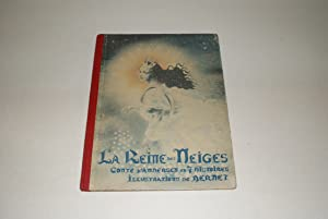 La Reine des Neiges. Conte d'Andersen en 7 Histoires. Illustrations de Bernet. [Collection de Tob...