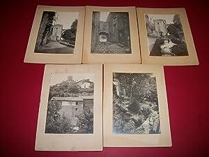 Cinq [5] Photographies Originales sur Royat. [Puy-de-Dôme: Anonyme (Photographe).