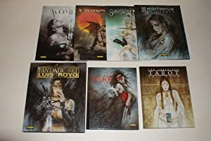 LUIS ROYO. 1. VISIONS. 2. III MILLENNIUM. 3. DARK LABYRINTH. 4. FANTASTIC ART. 5. THE LABYRINTH -...
