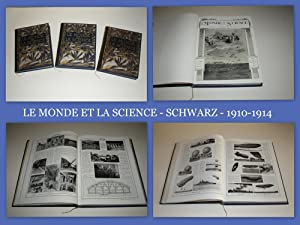 LE MONDE ET LA SCIENCE - SCHWARZ - 15.000 PHOTOGRAPHIES - COMPLET EN 3 VOLUMES.