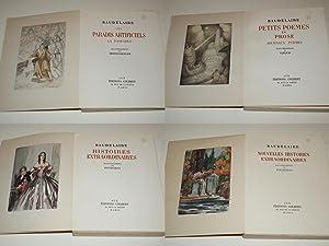 Oeuvres illustrées de Baudelaire. Les Fleurs du: BAUDELAIRE Charles. POE