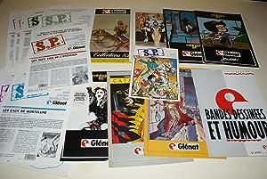 8 CATALOGUES GLÉNAT - 1983 - 1984