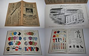 Catalogue - Williams & C° - 1 et 3 Rue Caumartin, Paris. - Sports Athlétiques - Football - Course...