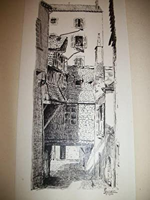 Laval - Vieilles Maisons de la Cour de l'Arche Noire (ex-lmpasse Échelle-Marteau) - ...