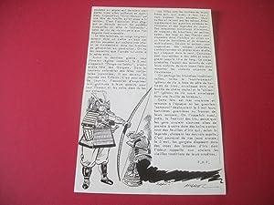 Samouraï Japonais - Un Dessin original de: P. H. P.