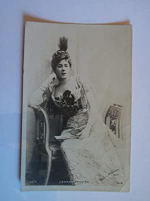 Jeanne GRANIER - Carte Postale Ancienne. [Photo Charles Reutlinger].