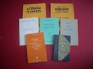 Lot Pierre Louÿs - 7 Livres -: LOUYS Pierre. DUMONT