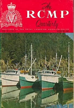 RCMP Quarterly 1967--10 (Vol. 33 #2)