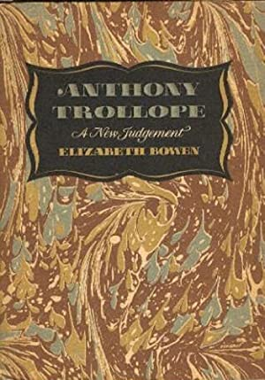 Anthony Trollope : A New Judgement