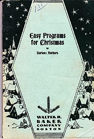 Easy Programs for Christmas