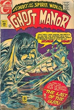Ghost Manor # 4 (1969)