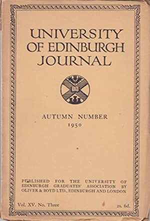 University of Edinburgh Journal 1950--Autumn