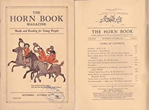 Horn Book Magazine 1937--September/October