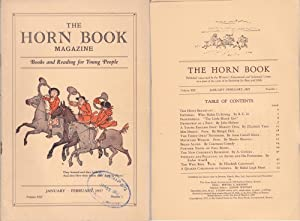 Horn Book Magazine 1937--January/February