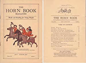 Horn Book Magazine 1937--July/August