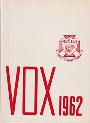 Vox 1962 (United College, Winnipeg, Manitoba)
