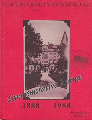 1988--Summer (Vol. 4, No. 2) Commemorative Journal 1888 1988