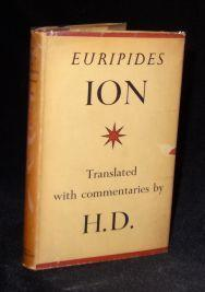 ION: Euripides (Translated with commentaries by H. D.)