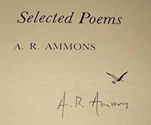 SELECTED POEMS: A. R. Ammons
