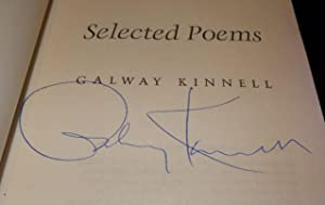 Selected Poems (Uncorrected Proof): Kinnell, Galway