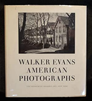 WALKER EVANS: AMERICAN PHOTOGRAPHS: Walker Evans